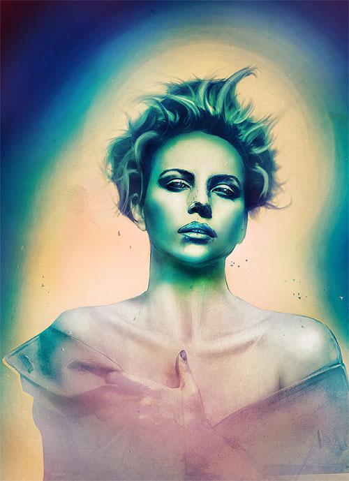 Eye Stunning Digital Art by Adam Spizak