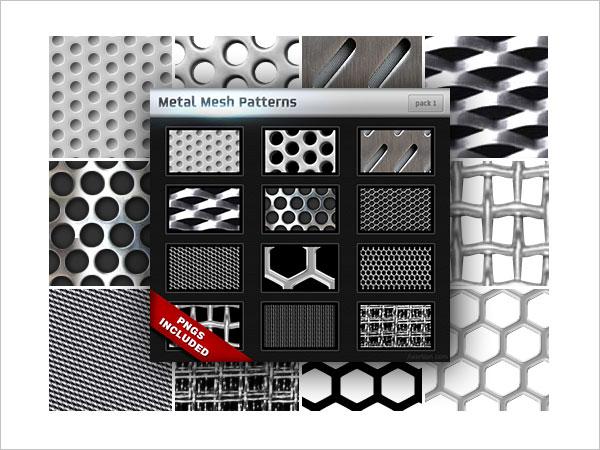 Metal Mesh Patterns Pack 1