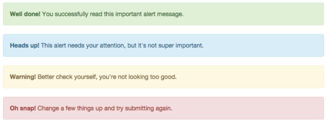 bootstrap-alert