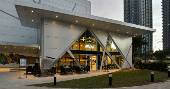A stand alone McCafe opens in BGC