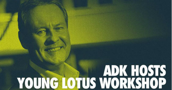 ADK to host the ADFEST 2018 Young Lotus Workshop
