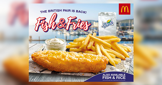 Campaign Spotlight: The Brits are coming: McDonald's Fish & Fries is finally back in new ad from Leo Burnett Manila