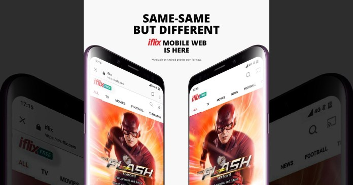 iflix Mobile Web – Go Straight to the Good Stuff