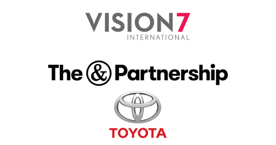 The&Partnership and Vision7 Media Bespoke Agency Model appointed to handle Toyota Canada's Retail Marketing