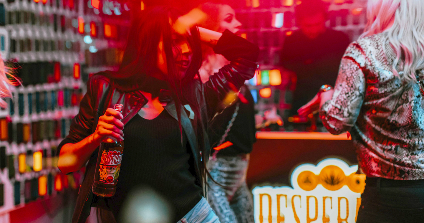 Campaign Spotlight Desperados Organizes The World S Largest Video Light Show Using Mobile Phones During Their Epic Party Adobo Magazine Online
