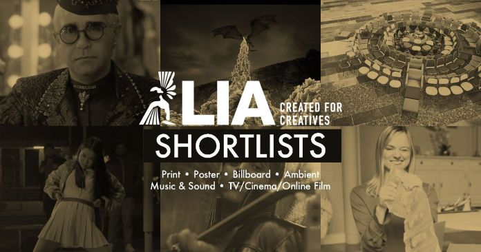 LIA 2019: Shortlists Revealed for LIA's Print, Poster, Billboard, Ambient, Music & Sound, and TV/Cinema/Online Film Categories