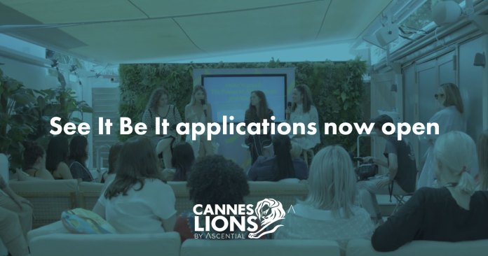 Cannes Lions 2020: Next Year's See It Be It Now Open for Applications – Aiming to Provide Equal Gender Representation in the Creative Industry