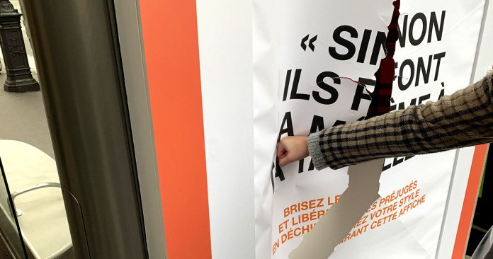 Campaign Spotlight: Punching Through Bus Shelter Posters and Fighting Fashion Stereotypes for Zalando's #FreeToBe Campaign by We Are Social