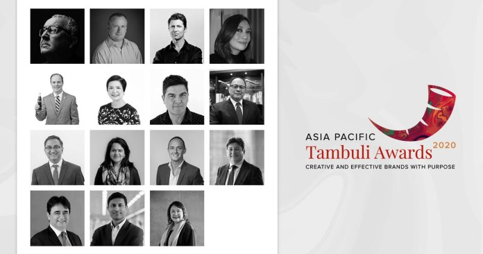 APAC Tambuli 2020: 15 of the Most Respected Advertising Leaders Band Together to Form the Overall Executive Jury for This Year's APAC Tambuli