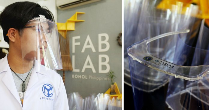 Design: Fablab Bohol is Producing Face Shields for COVID-19 Frontliners in their Province to Donate to Local Hospitals and Clinics