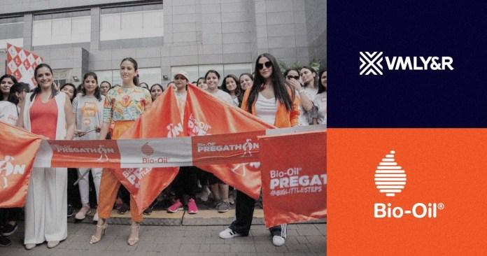 "Campaign Spotlight: Bio-Oil ""Pregathon"" Enters the India Book of Records for #BigLittleSteps Initiative by VMLY&R India"