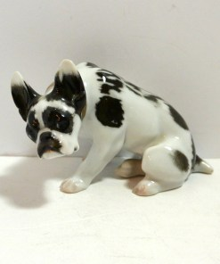 Very Old Rosenthal Bulldog Front 1- Dog's Tale Collectibles