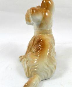 Vintage Porcelain Terrier Pup Back 12- Dog's Tale Collectibles
