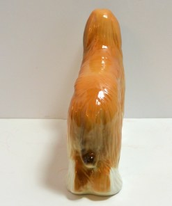 Porcelain Afghan Hound Dog Back View- Dog's Tale Collectibles
