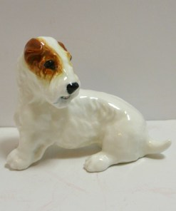 Royal Doulton Seated Sealyham Terrier Dog Front545- Dog's Tale Collectibles