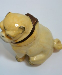 ictorian English Pug Dog Tobacco Jar Top 5- Dog's Tale Collectibles