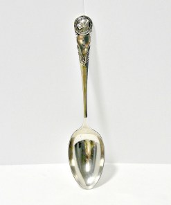 Large Solid Sterling Silver Spoon Front 5- Dog's Tale Collectibles