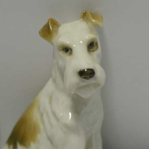 fox terrier figurine