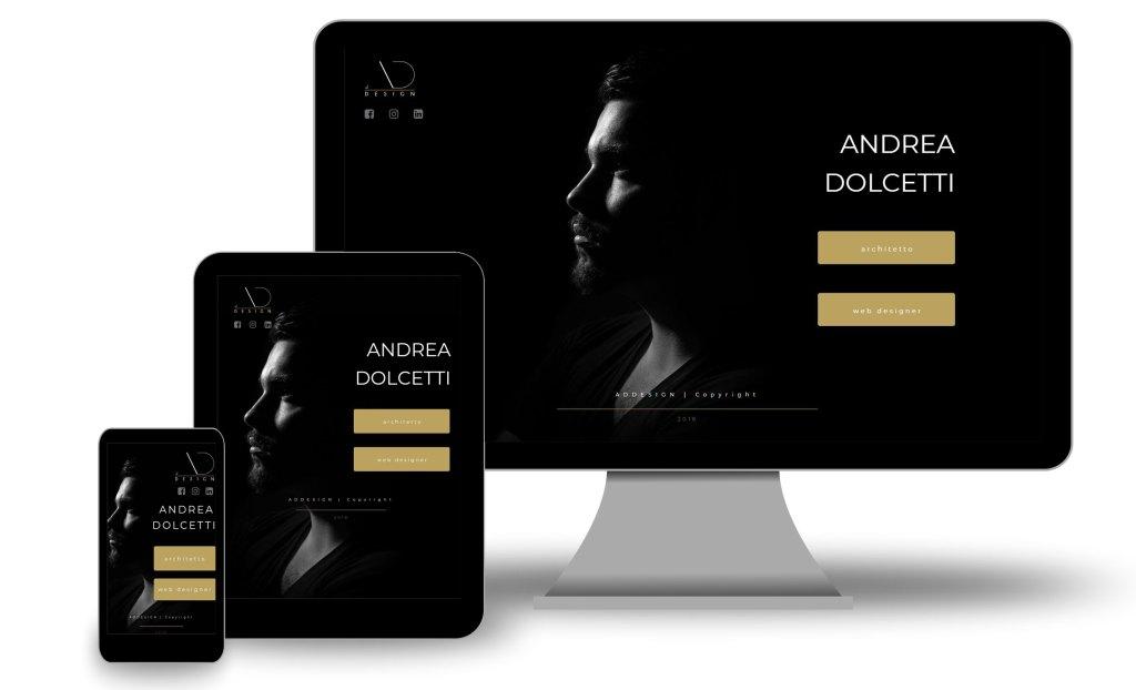 andrea dolcetti design web responsive - progettiscrivimi - architetto ferrara