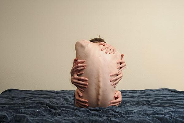 corpo autolesionismo