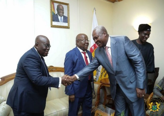 Don't run from the debate; you can even choose your own moderator – Mahama dares Akufo-Addo