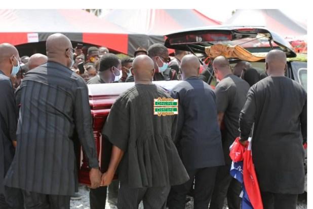 Slain Mfantseman MP laid to rest