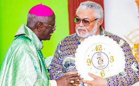 "Back your prayer of words with actions,"" Ghana's Former President at Diamond Jubilee"