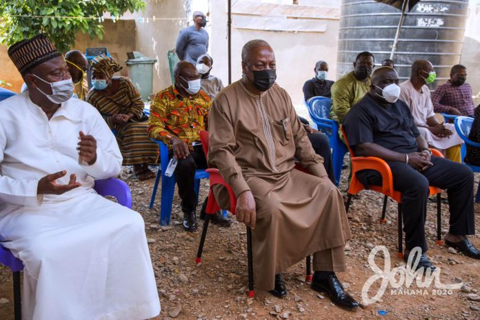 Mahama mourns after being hit with sad news 6