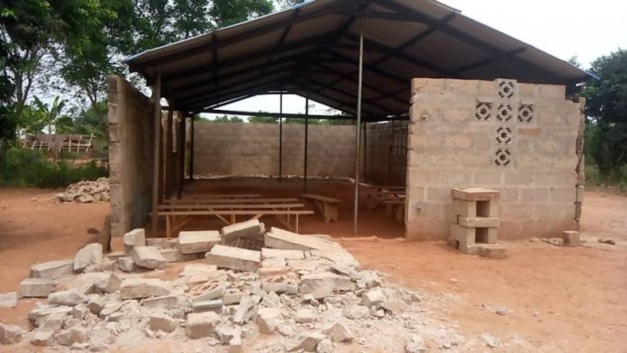 Boy, 6, battlling for life after uncompleted Church building collapses 6