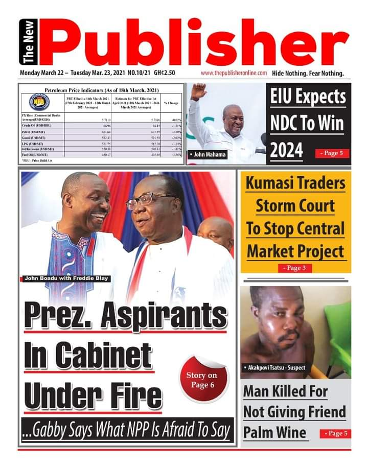 Newspaper Headlines: Monday, March 22, 2021 16
