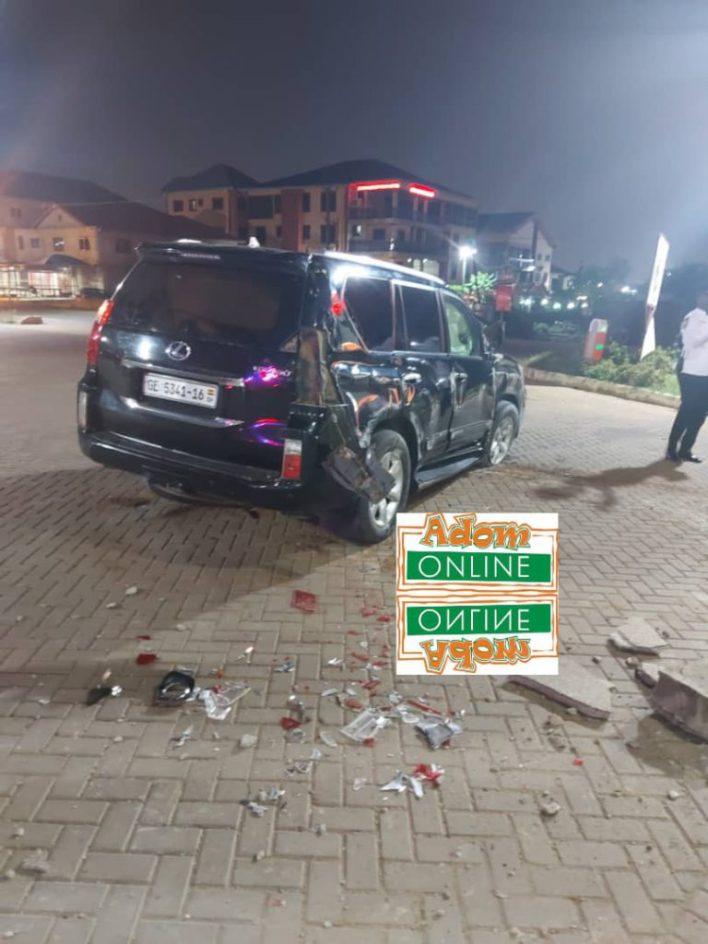 Adom FM's Bishop Owusu-Ansah involved in near fatal accident [Photos+Video] 3