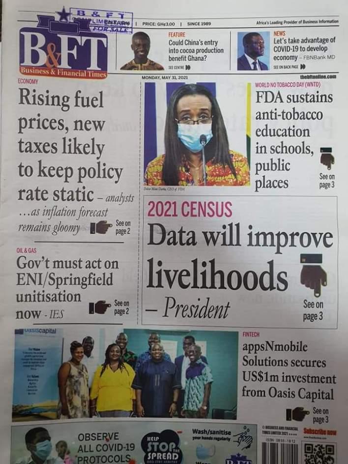 Newspaper Headlines: Monday, May 31, 2021 6