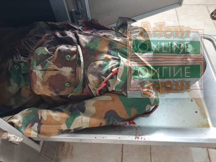 Highway robbers kill soldier [Photo] 1