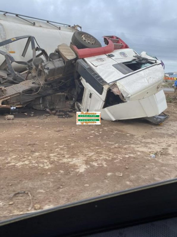 PHOTOS: One feared dead, others in critical condition in accident on Motorway 2