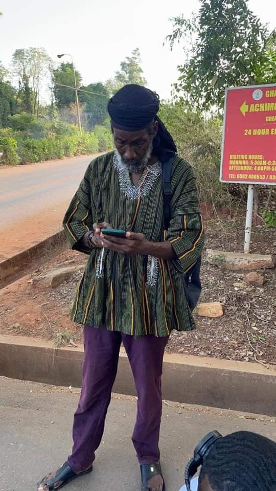 Oheneba Kwaku Nkrabea Achimota Rasta student1