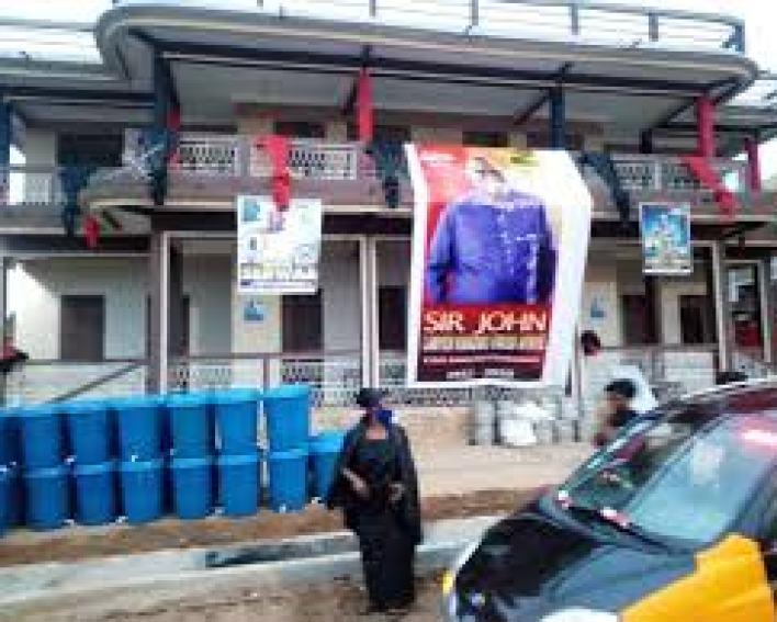 Funeral rites of Sir John underway at Sakora Wonoo [Photos+video] 6