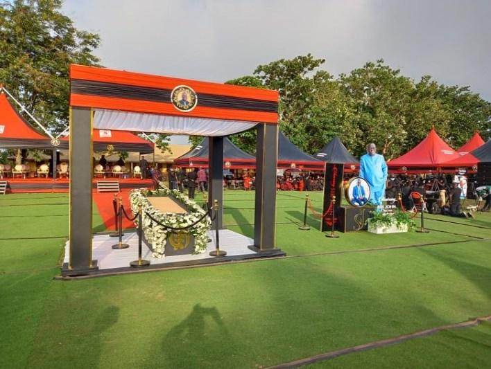 Funeral rites of Sir John underway at Sakora Wonoo [Photos+video] 4