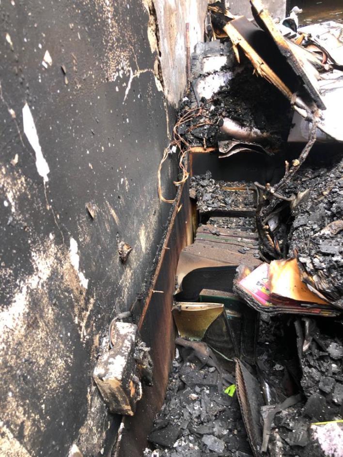 Fire ravages Zenith University [Photos] 5