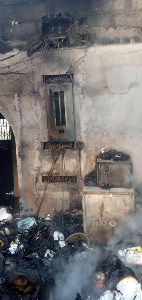 Fire ravages Zenith University [Photos] 2