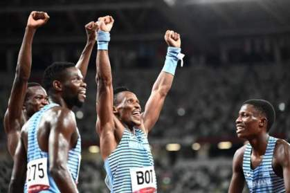 Botswana gifts houses to Olympic bronze medal winners