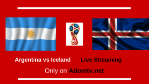 Argentina vs Iceland Live Streaming