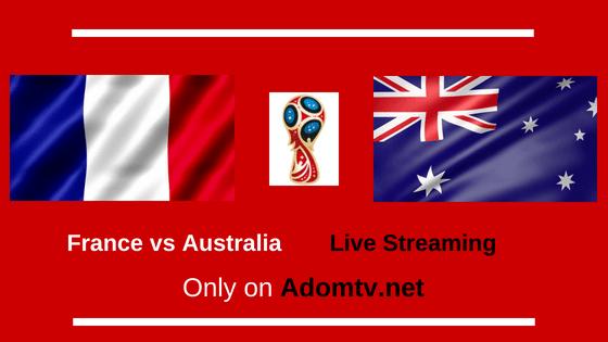 France vs Australia Live Streaming logo