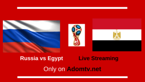 Russia vs Egypt Live Streaming