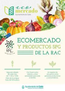 Ecomercado de la RAC Red Agroalimentaria Cádiz 13 Abril 2019 adondevoyconmifamilia