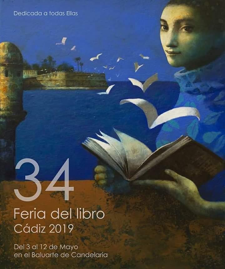 "Del 3 al 12 de Mayo de 2019, ""34 Feria del Libro"" CÁDIZ Agenda Semanal para la Familia Provincia de Cádiz adondevoyconmifamilia"