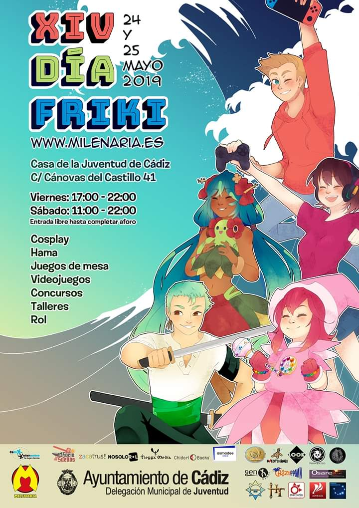 Del 24 al 25 de Mayo de 2019, XIV Día Friki Cádiz Cádiz niños adondevoyconmifamilia