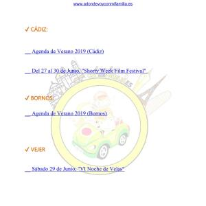 032 Agenda semanal familiar 28 junio al 04 Julio 2019