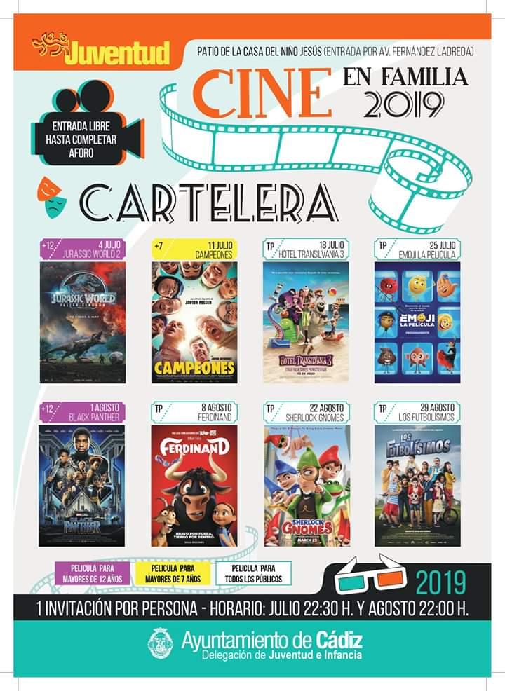 Cine En Familia Verano 2019