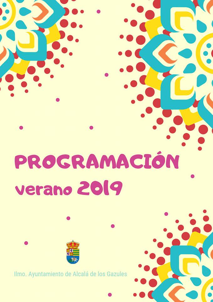 Agenda Verano 2019 Alcalá de Los Gazules