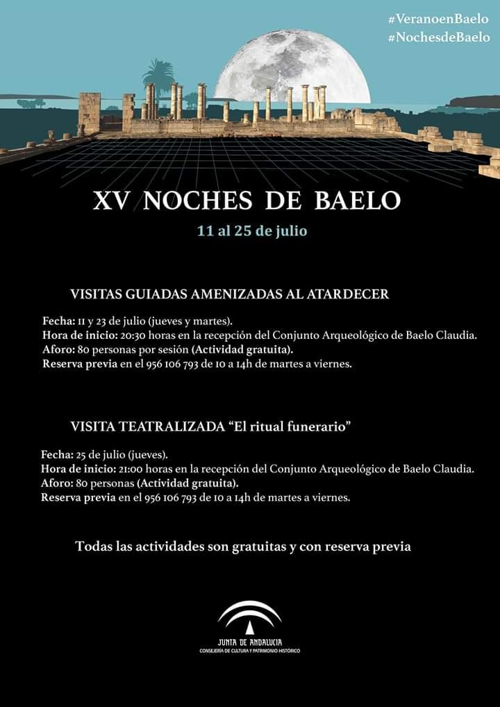 Noches de Baelo 2019 Tarifa